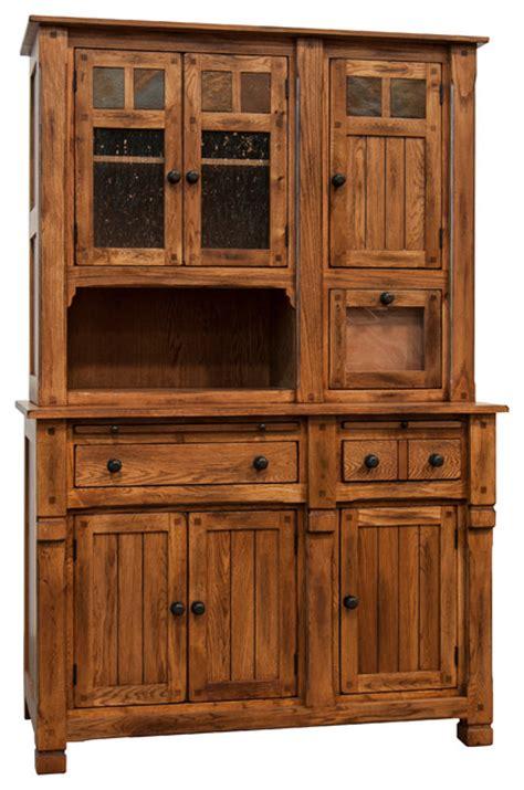 sedona hutch with buffet farmhouse china cabinets and