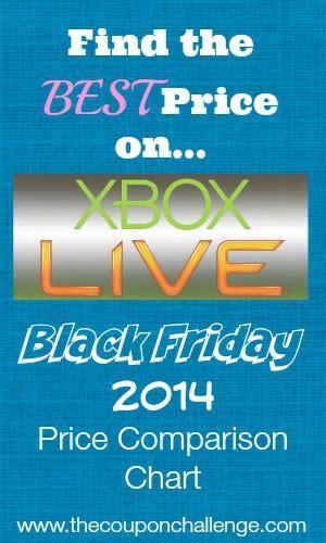 xbox live 1 dollar black friday 2014 xbox live price comparison