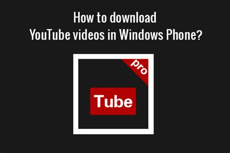 download mp3 youtube windows phone how to download youtube videos for free