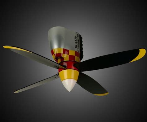 propeller style ceiling fan warplane propeller ceiling fan dudeiwantthat com