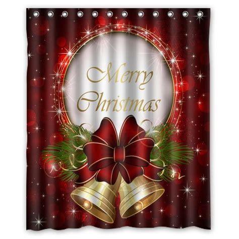 christmas shower curtain canada christmas shower curtains vintage poinsettia and holly