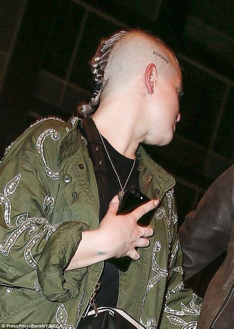 ozzy tattoo nyc kelly osbourne with pro skater braydon szafranski wstale com