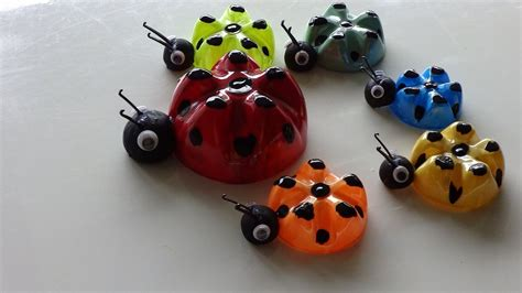 Botol Ninio Recycled Ideas For Ladybug S Family From Plastic