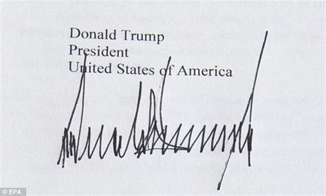 donald trump signature what hand writing expert reveals about donald trump s