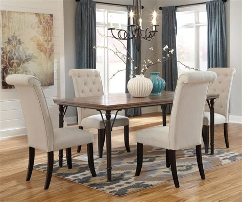 ashley dining room sets ashley signature design tripton 5 piece rectangular dining