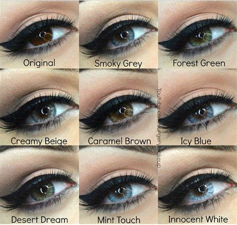%name Black Colored Contacts   Colored Contacts Ideas for Brown Eyes You Need To Know   The Fast Fashion Blog