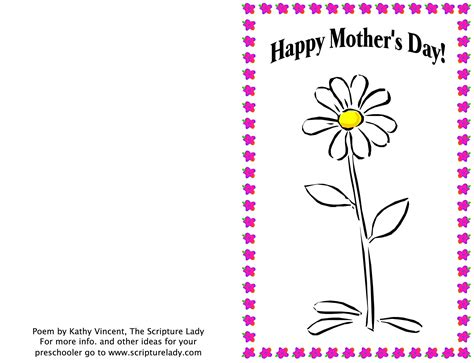 Religious Mothers Day Card Template by Church Poems For Wedding Tips And Inspiration