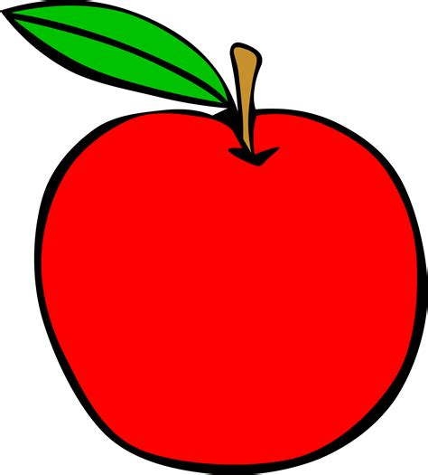 clip apple apple clipart simple pencil and in color apple clipart