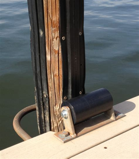 boat dock roller guides replacement dock rollers piling guard