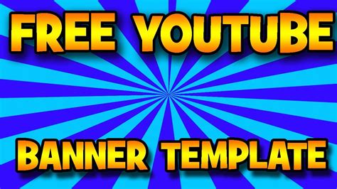 Photoshop Free Hd Gaming Youtube Channel Banner Template Youtube Free Channel Banner Template