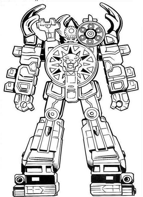 power rangers robot coloring pages power rangers big robot coloring pages best place to color