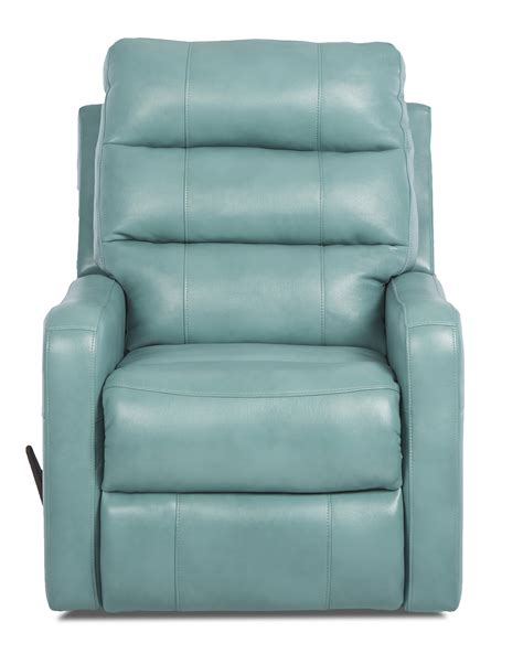 contemporary swivel recliner chairs striker contemporary swivel rocking reclining chair by