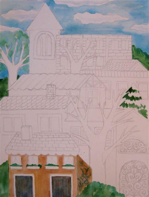 watercolor tutorial buildings watercolor buildings painting tutorial