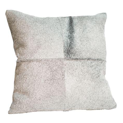 Cheap Cowhide Pillows by Gray Cowhide Pillow