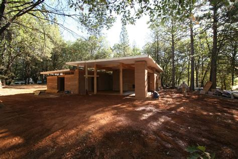 Country Home House Plans a contemporary rammed earth home in the mountains