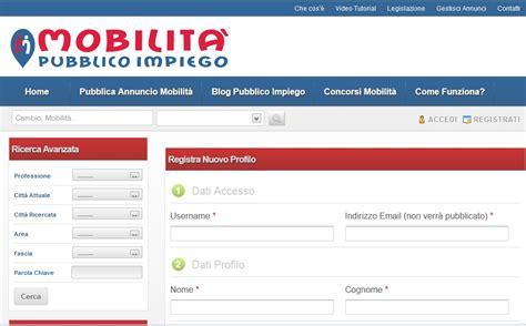 la listing community secondo mobilitapubblicoimpiego it