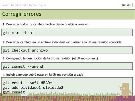 git tutorial log mini tutorial de git