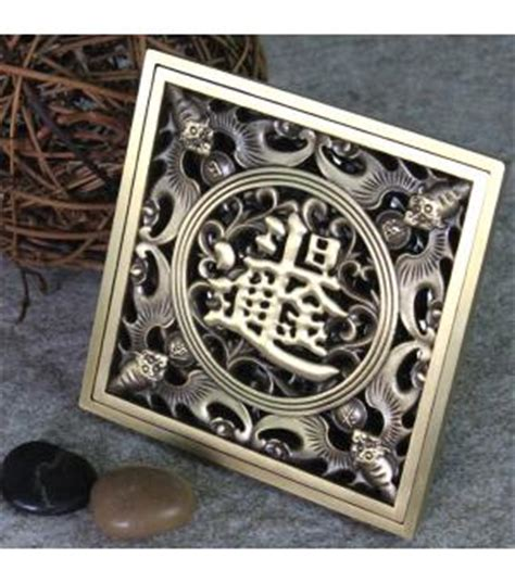 bathroom in chinese characters antique brass bathroom floor shower drain waste with