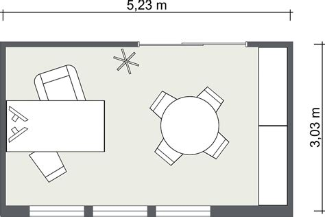 House Plans With Office by Small Office Floor Plans Roomsketcher