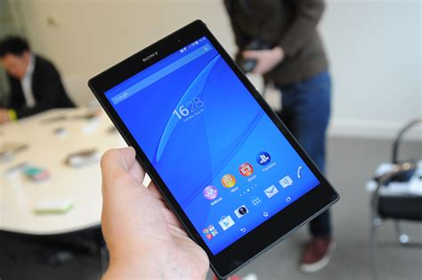 Sony Xperia Tablet Compact sony kondigt xperia z3 tablet compact aan techmania nl