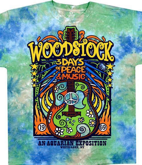 Tshirt Woodstock woodstock festival black t shirt liquid blue
