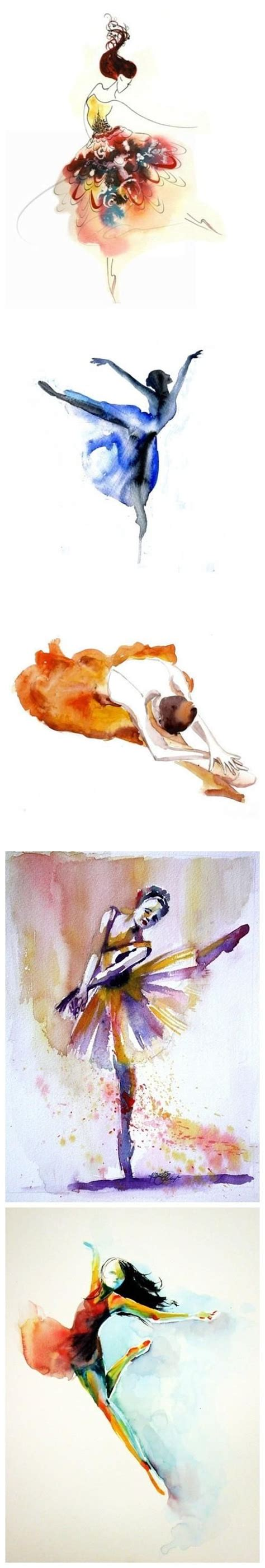 watercolor tattoo last beautiful beautiful tattoos and ballet on