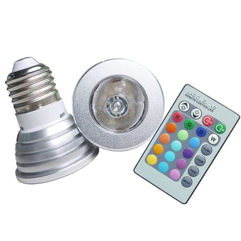led light bulb color led color e27 light bulb with remote 10 183 swans