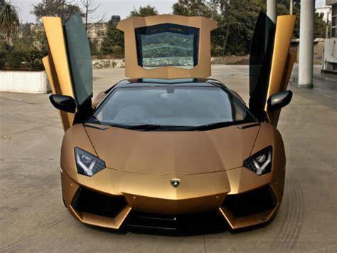 Dc Lamborghini Dc Lamborghini Aventador Painted In Prism Gold 2013