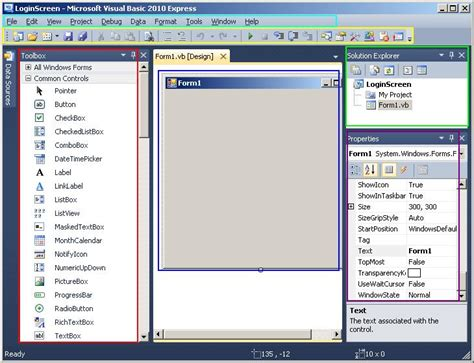 tutorial visual basic microsoft visual basic tutorial step by step exle