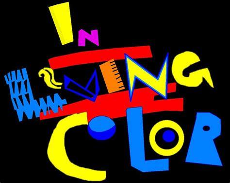 Living With Colour in living color logo