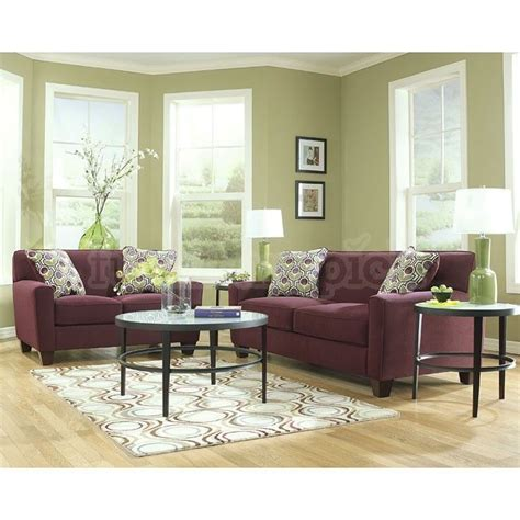 Aubergine Living Room by Danielle Eggplant Living Room Set Stylish Living Rooms