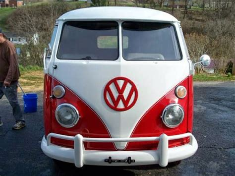 volkswagen van front view vw bus front bing images