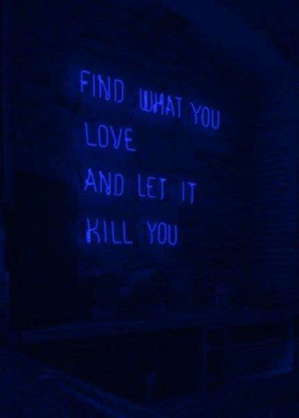 dark blue aesthetic wallpaper quotes  ideas blue