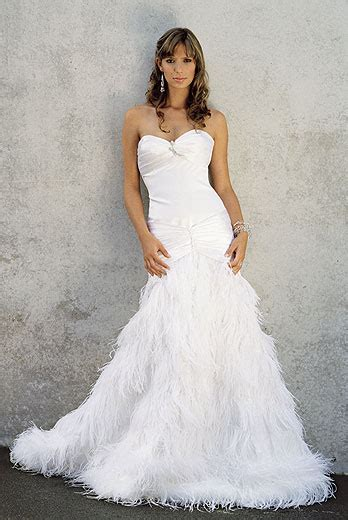 friendship feather wedding dresses 2013 trend