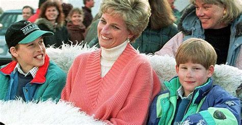 princess diana sons princess diana s will has been revealed for the first time