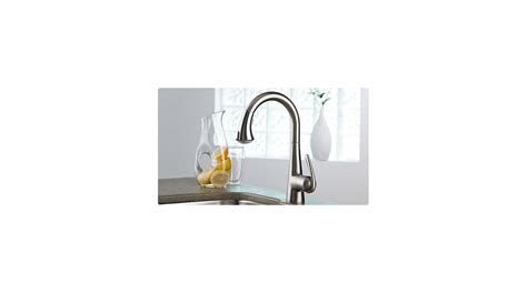 shop grohe ladylux stainless steel 1 handle pull down deck shop grohe ladylux stainless steel best free home