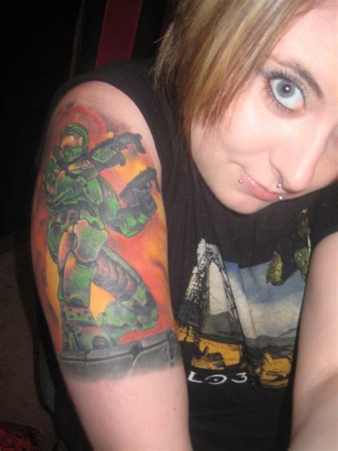 10 die hard gaming fans showing their killer tattoos