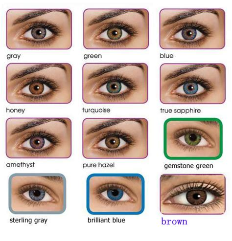 what would i look like with different colored hair fresh look contact colors color contact lenses canada