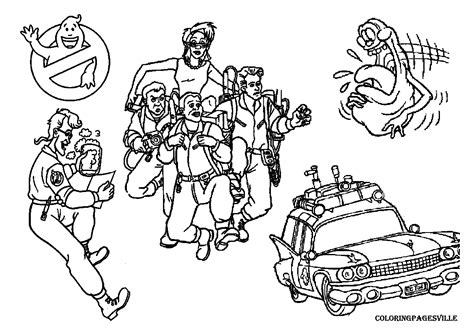ghostbusters coloring pages free coloring pages of ghostbuster