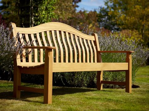 hardwood benches norbury 3 seater hardwood garden bench from hartman 163 246