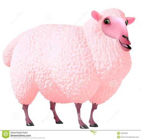Sheep Pink pink sheep stock illustration illustration of sheep 44032369