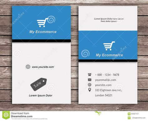 ecommerce business card template best electronic business cards gallery card design and
