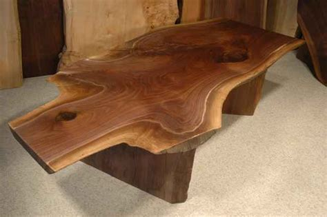custom wood table custom wood slab coffee tables dumond s custom furniture
