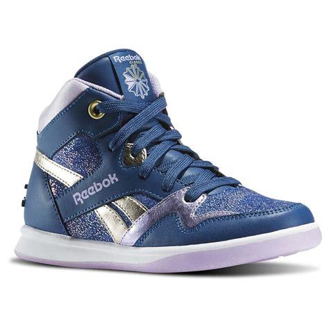silver high top sneakers reebok stud blue silver high top sneaker