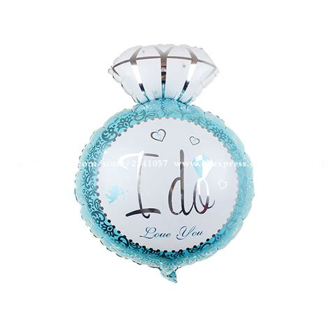 Ring Foil Balloon Blue buy wholesale print big letters from china print