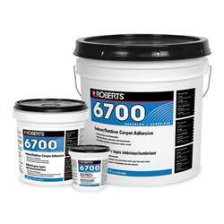 indoor outdoor carpet adhesive consolidated