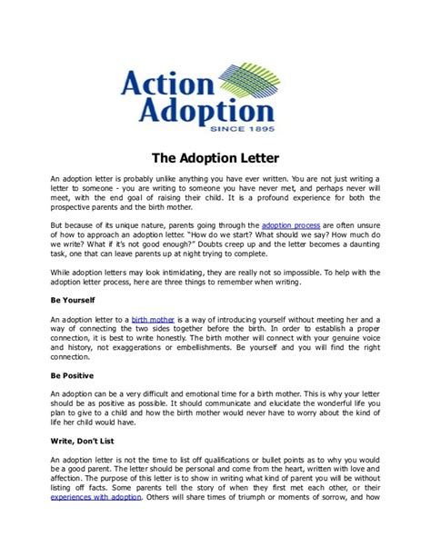 thank you letter to my adoptive parents the adoption letter