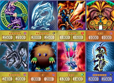 Anime Gift Card - yugioh anime cards main mosaic by whosaskin on deviantart
