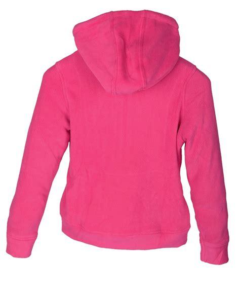 Jaket Kid Pink By Z Shop kinder m 228 dchen teddy fleece kapuzenjacke hoodie f 252 r