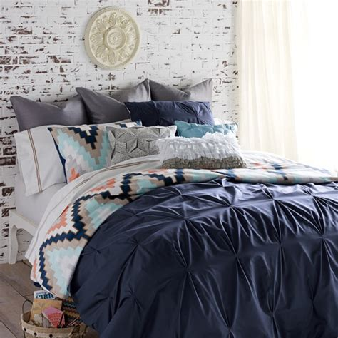 shop blissliving home bed linens navy the home